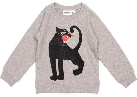 Panther Sweatshirt in Grey