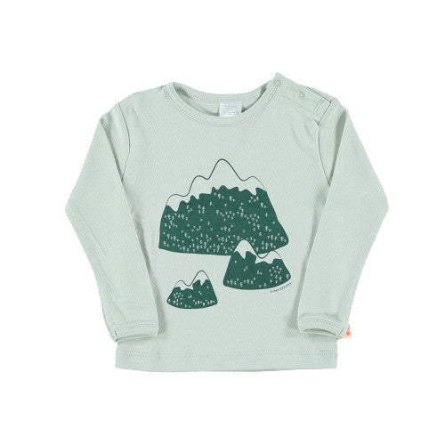 Mountains Graphic Long Sleeve Tee