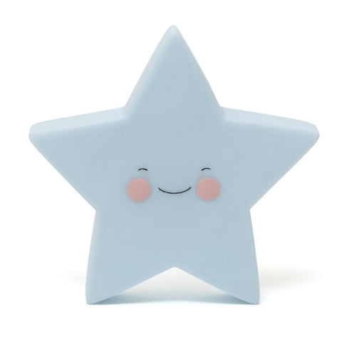 Star Nightlight in Blue