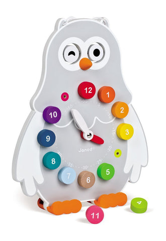 Owly Dual Sided Teaching Clock
