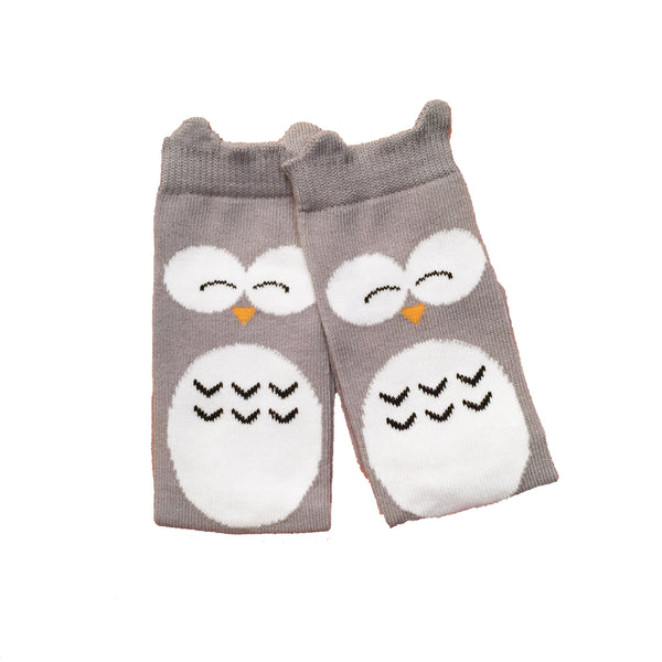 Sleeping Owls Knee Socks