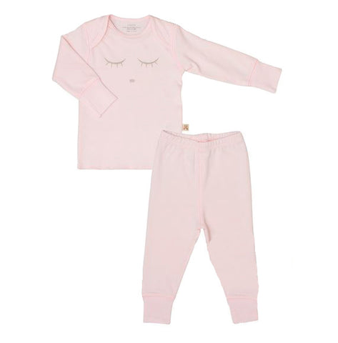 Sleeping Cutie 2 Piece Set in Pink