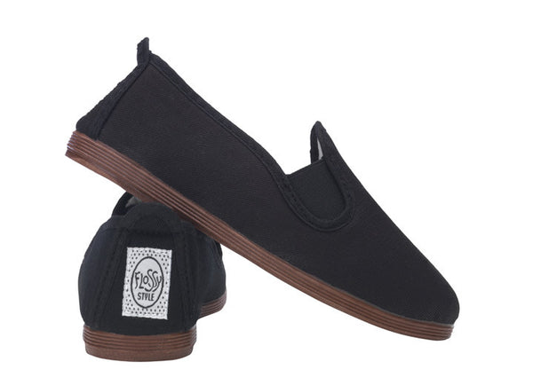 Slip-On Shoes in Black
