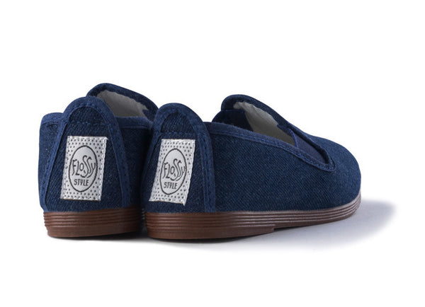 Slip-On Shoes in Denim