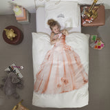 Princess Duvet Cover & Pillow Case Bedding Set - Twin or Full Size