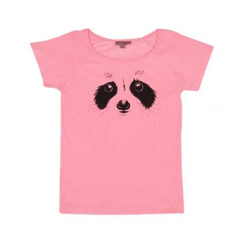 Pink Raccoon Tee