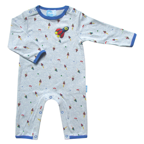 Rocket Applique Babygro