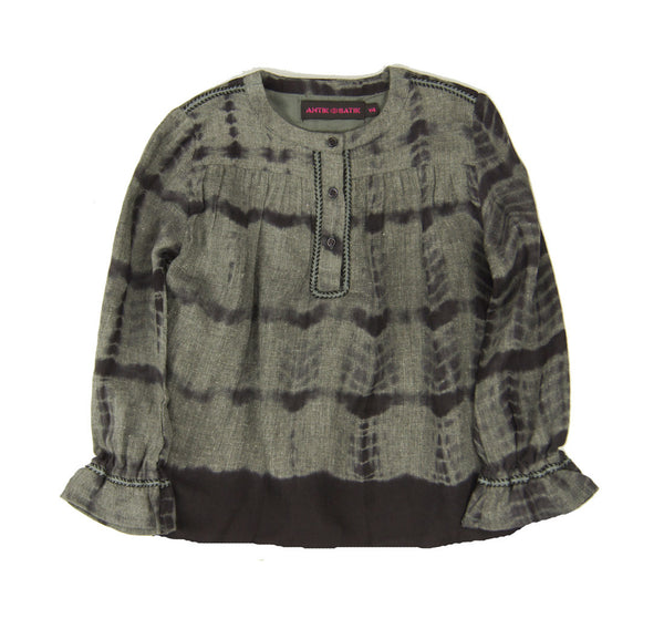 """Rogers"" Blouse in Grey"