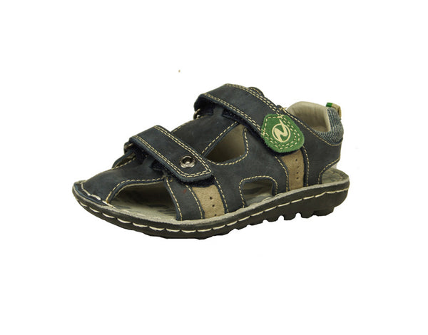 Navy and Grey Boys Sandal
