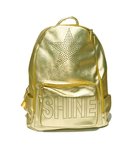 Shine Backpack in Gold