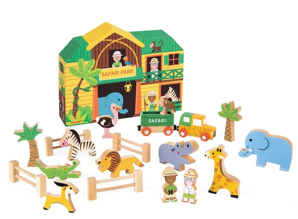 Safari Story Box Play Set
