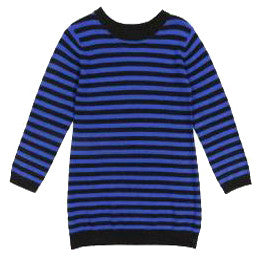 Girls Striped Sweater Dress