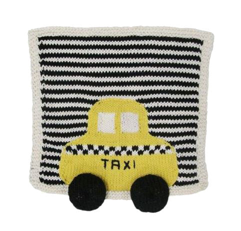 Taxi Baby Security Blanket in Organic Cotton
