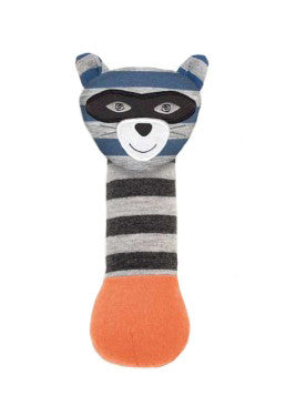 Robbie Raccoon Squeaky Toy