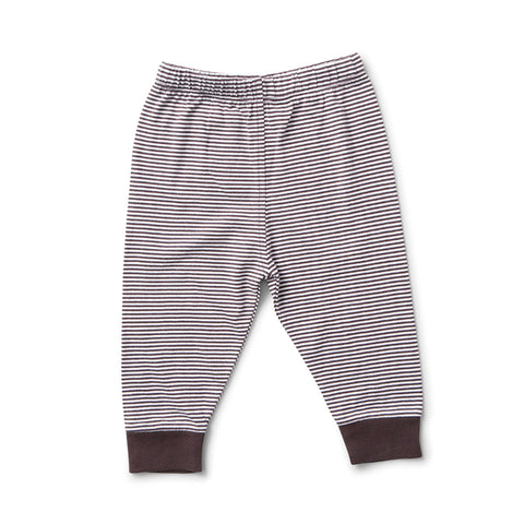 Striped Pants for Baby in Black & White