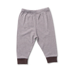 Striped Pants for Baby in Black & Blue