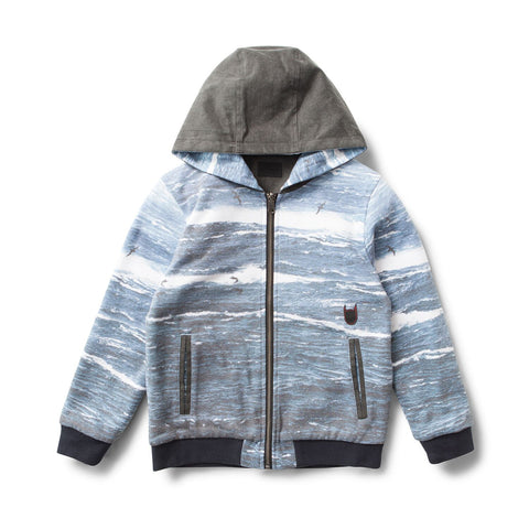 Turn of the Tide Reversible Hooded Jacket