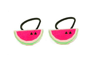 Watermelon Ponytail Elastic Set