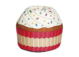 Giant Cupcake Bean Bag Chair - Vanilla