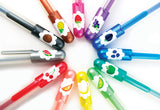 Yummy Scented Glitter Gen Pens - Set of 12