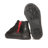 Anthony High Tops in Black Alligator