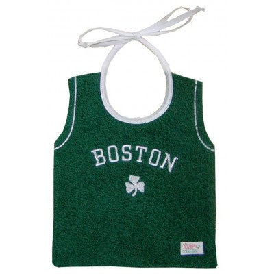 Boston Celtics Jersey Bib