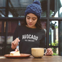 Load image into Gallery viewer, Women's Cali Conscious Avocado Sweatshirt