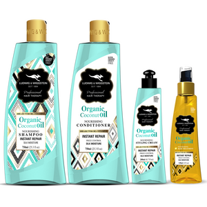 Ludwig & Wiggstein COCONUT OIL Hair Care COMBO