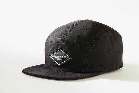 Diamond Logo Suede 5-Panel Hat - Black (Alternate)