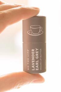 Vegan Lip Butter - Lavender Earl Grey - No Tox Life