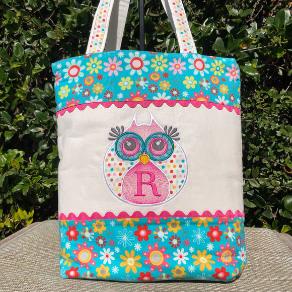 Hooty Applique Owl