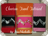 FREE~~Chevron Towel Tutorial