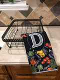 Monogrammed Kitchen Quilt