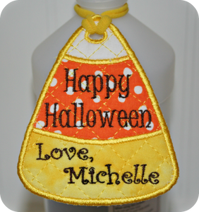FREE! In-the-Hoop Candy Corn Tag