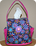 Pretty Pursonable Tissue Box Cover