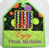 Tag This & That - ITH Embroidery Gift Tags