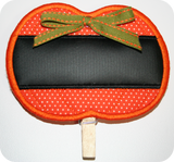 FREE! In-the-Hoop Reusable Pumpkin Dip Marker