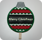 FREE! In-the-Hoop Reusable Ornament Dip Marker