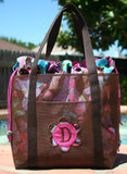 The Double Duty Screen Tote Bag - PDF Downloadable Pattern