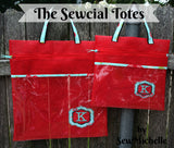 The Sewcial Tote Bag - PDF Downloadable Pattern