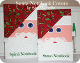 Santa Notebook Cover