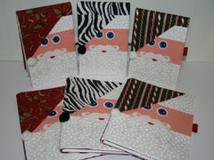 Santa Notebook Covers