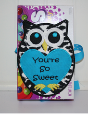 In the hoop Owl Sweet Treat Holder by SewMichelle