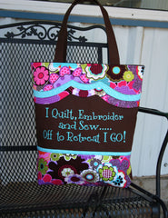 My Retreat Bag - PDF Downloadable Pattern