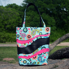 Sewmichelle Pet Screen Tote Bag Easy Sewing Pattern For
