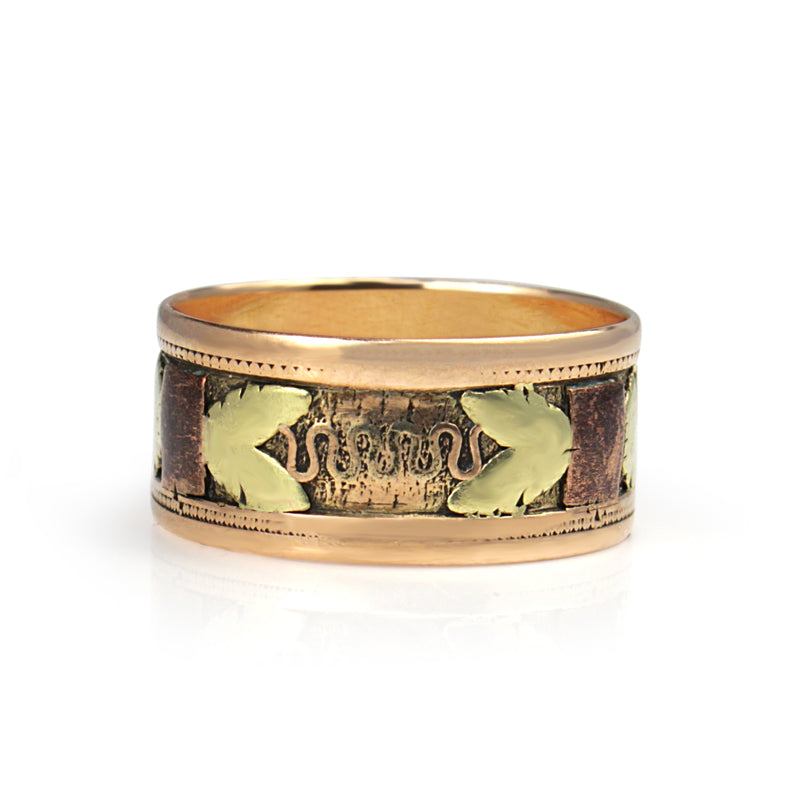 14ct 3 Tone Antique Ring (Boxed)