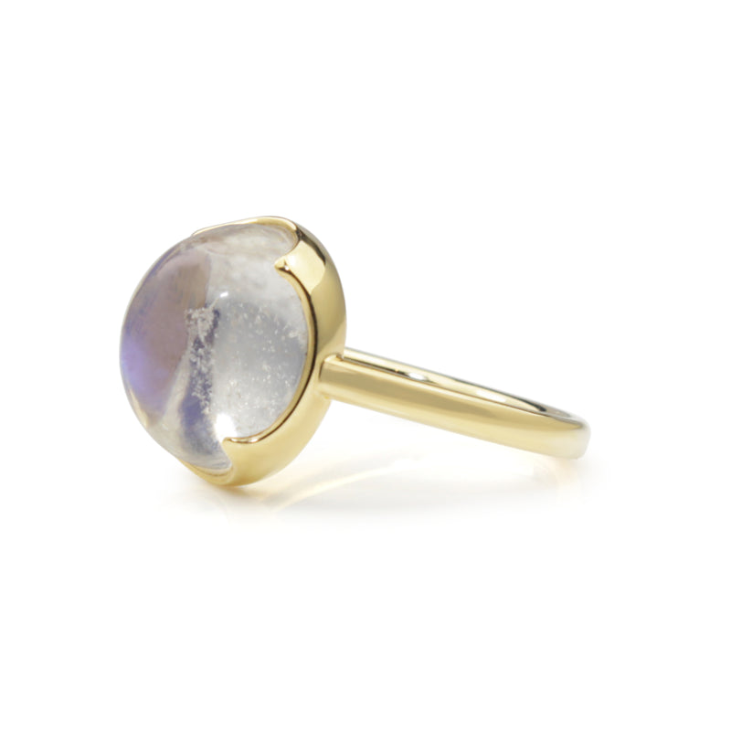 18ct Yellow Gold Moonstone Ring