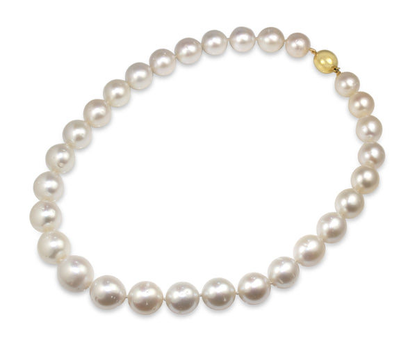 13 - 16mm South Sea Pearls on 9ct Yellow Gold Clasp