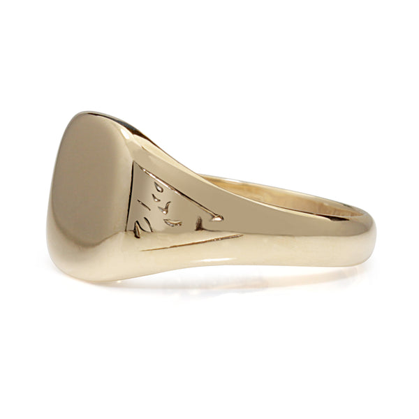 9ct Yellow Gold Vintage Signet Ring