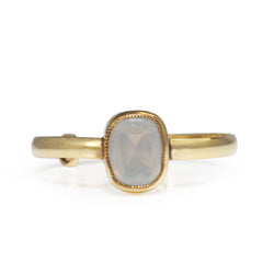9ct Yellow Gold Adjustable Moonstone Ring